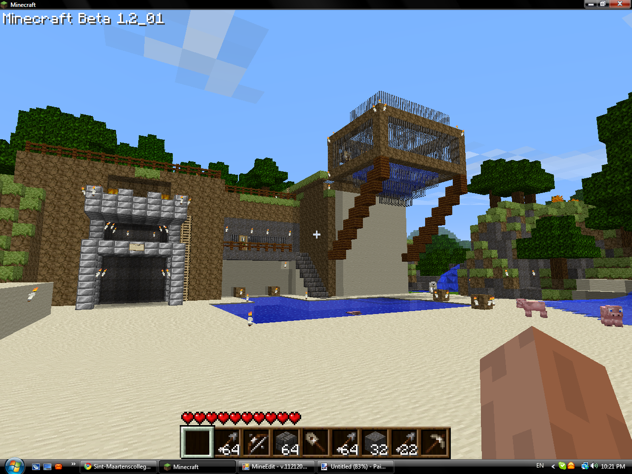 Minecraft_House_painterfly